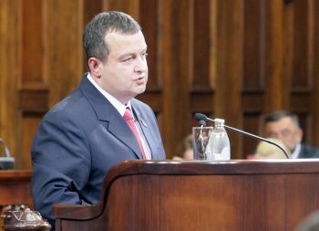 Keynote address of Ivica Dacic, Prime Minister Nominee of the new government of the Republic of Serbia