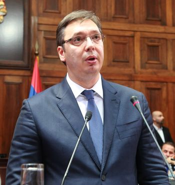 Serbia's progress in all areas main task of new government