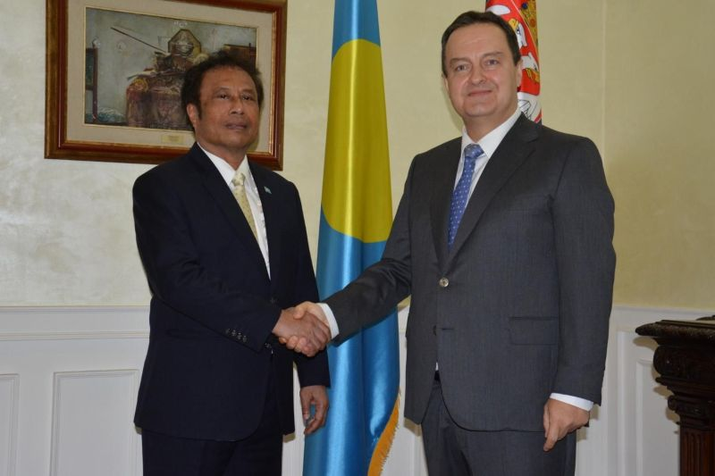 Republic of Palau suspends recognition of Kosovo