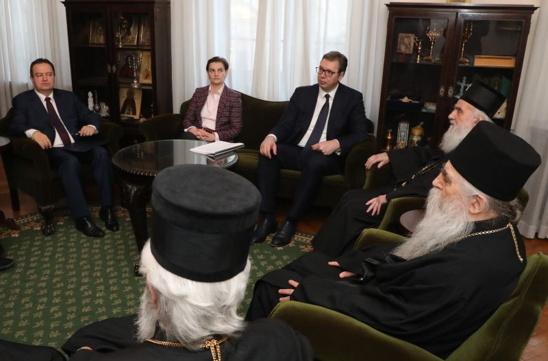 Unity of state, church about Kosovo-Metohija important