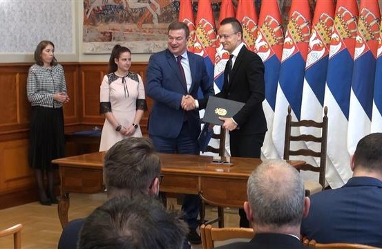 Serbia, Hungary deepen overall relations