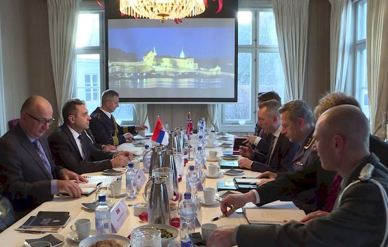Very good cooperation with Norway in field of defence