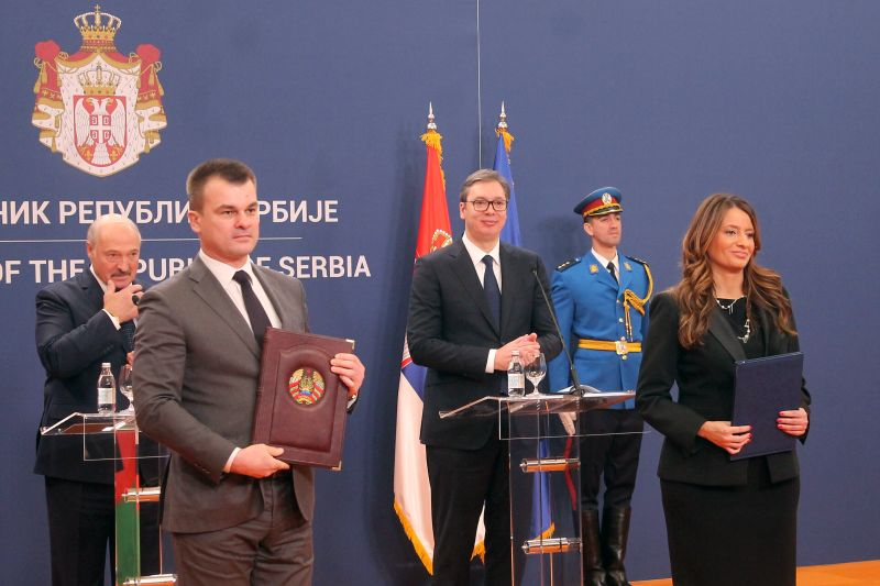 Development of cooperation between Serbia, Belarus in several areas