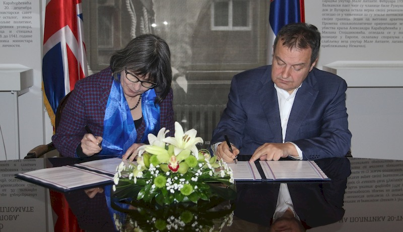 Continuation of UK support to European integration of Serbia