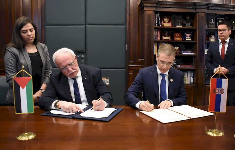 Strengthening security cooperation with Palestine