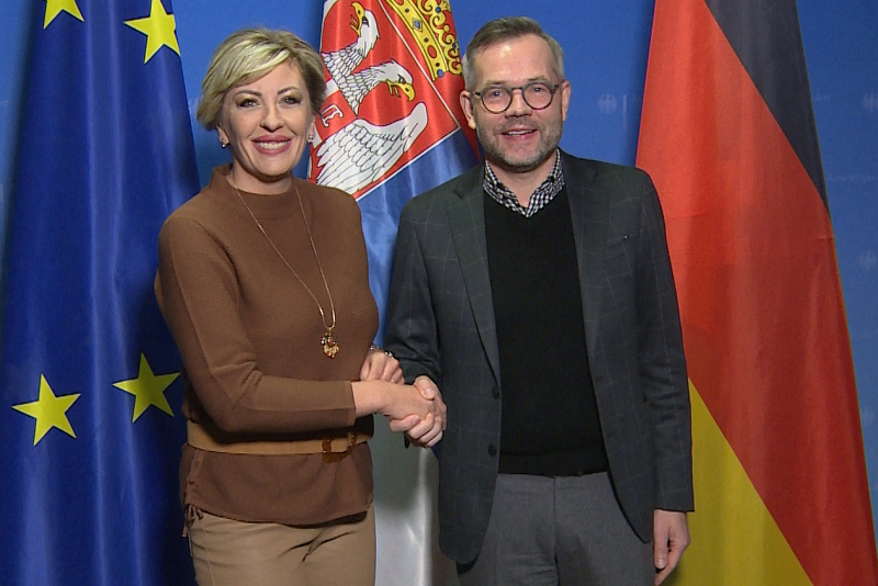 Germany committed to European future of Serbia