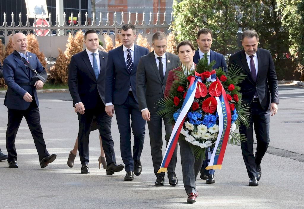 Prime Minister, ministers pay tribute to Zoran Djindjic