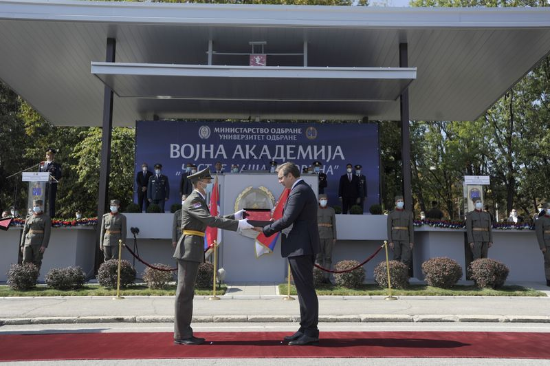 Youngest officers of Serbian Army promoted
