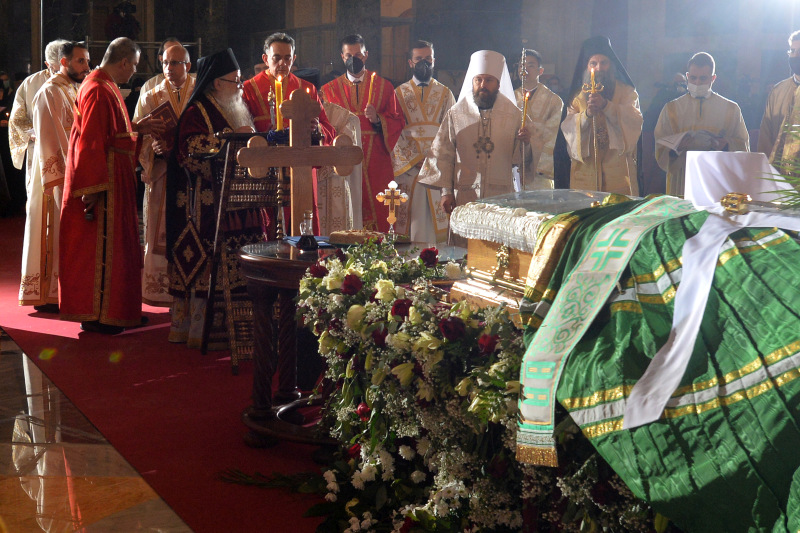 Serbian Patriarch Irinej buried at crypt of Saint Sava's Temple