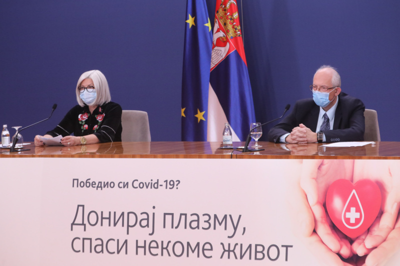 Belgrade still leads in the number of COVID-19 positive cases