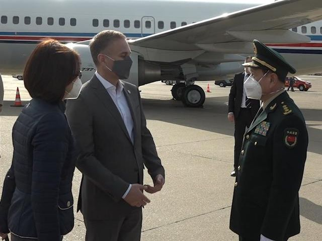 Visit of Chinese Minister of Defence to Serbia ends
