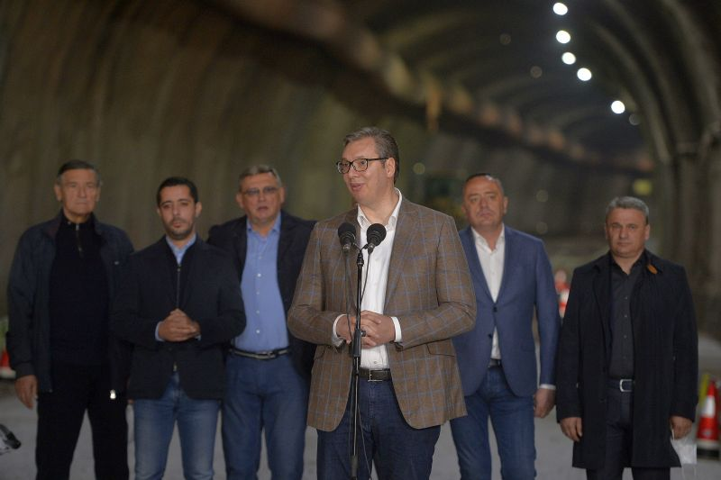 Completion of Preljina-Pozega section in early 2022