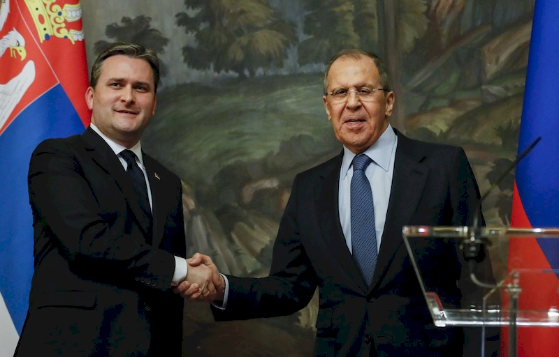 Serbia, Russia committed to principles of international law, UN