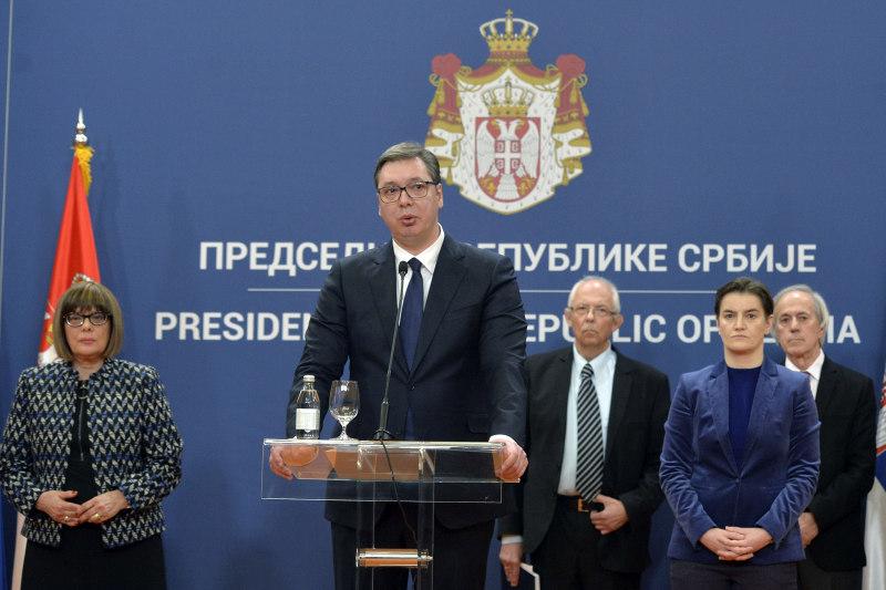 Проглашено ванредно стање на територији читаве Србије