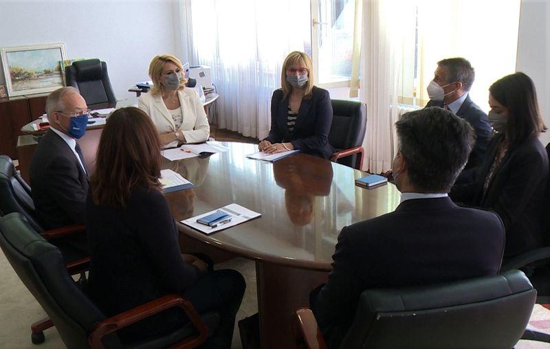 Unapređenje saradnje Ministarstva za rad sa Misijom OEBS-a