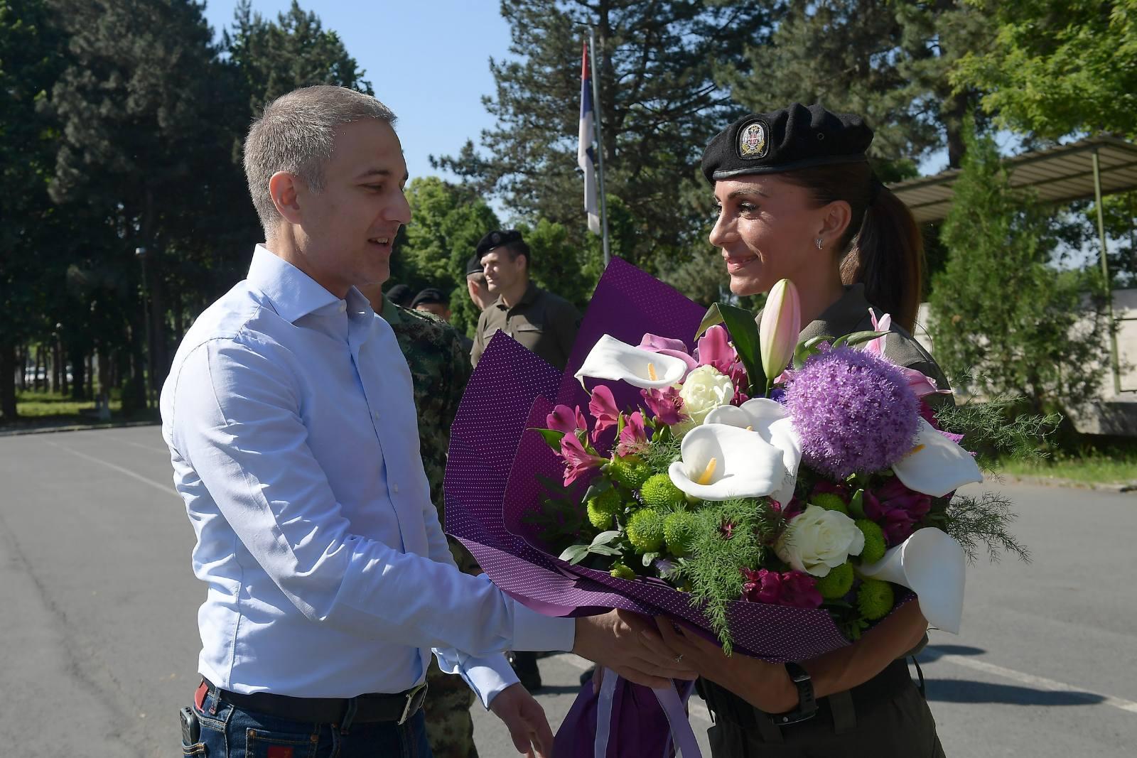 Stefanović razgovarao sa ovogodišnjom pobednicom Beogradskog maratona