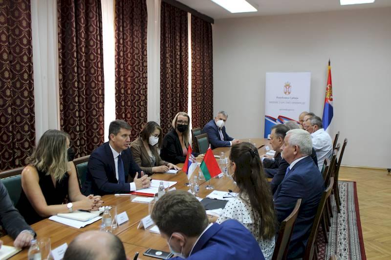 Inteziviranje privredne saradnje sa Belorusijom