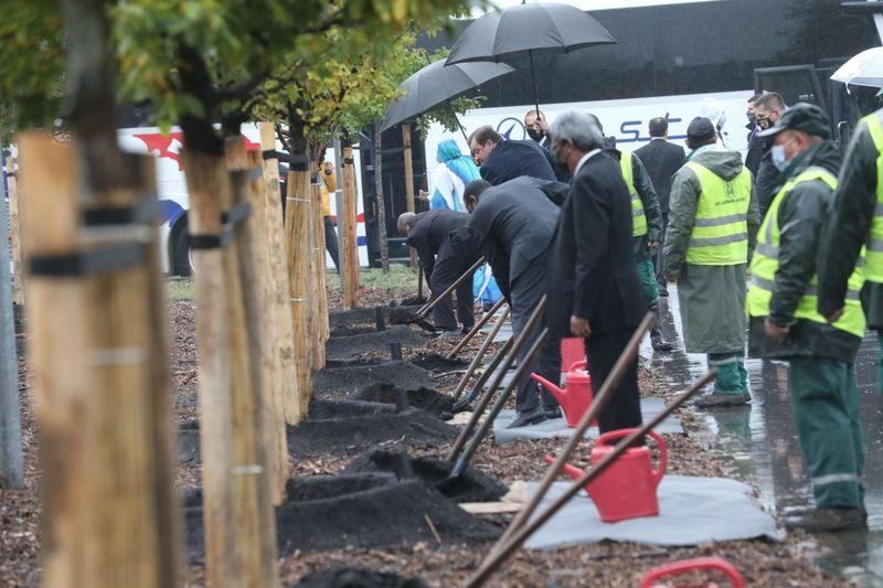 Zasađeno drveće povodom 60-godišnjice Pokreta nesvrstanih
